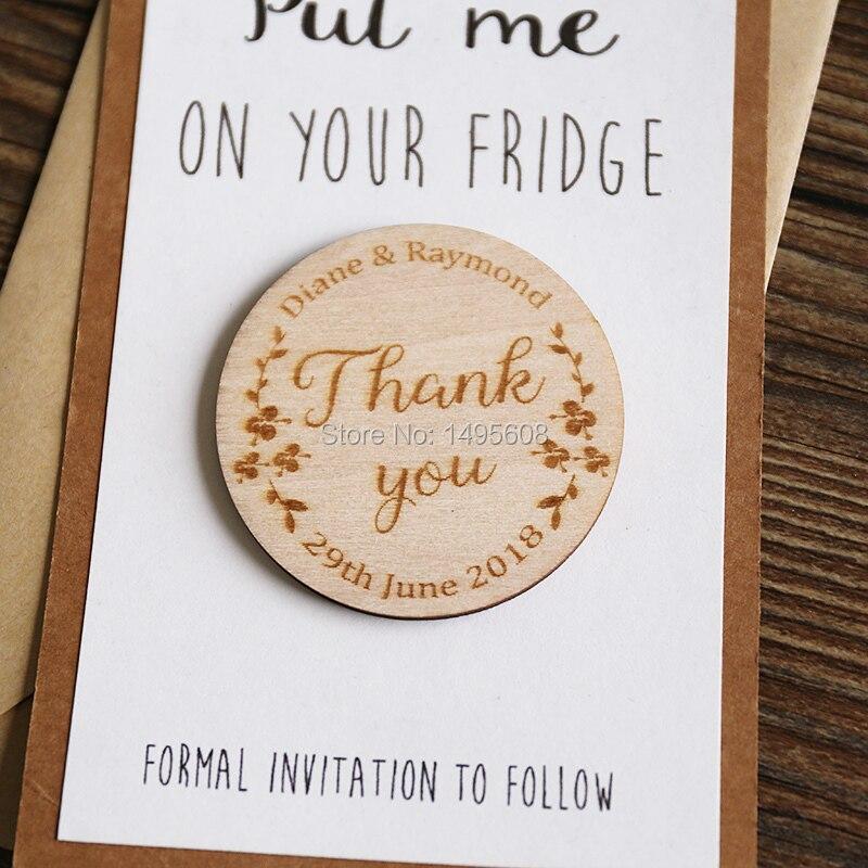 Hochzeit Sparen die Datum Magneten, Personalisierte Elegante ...
