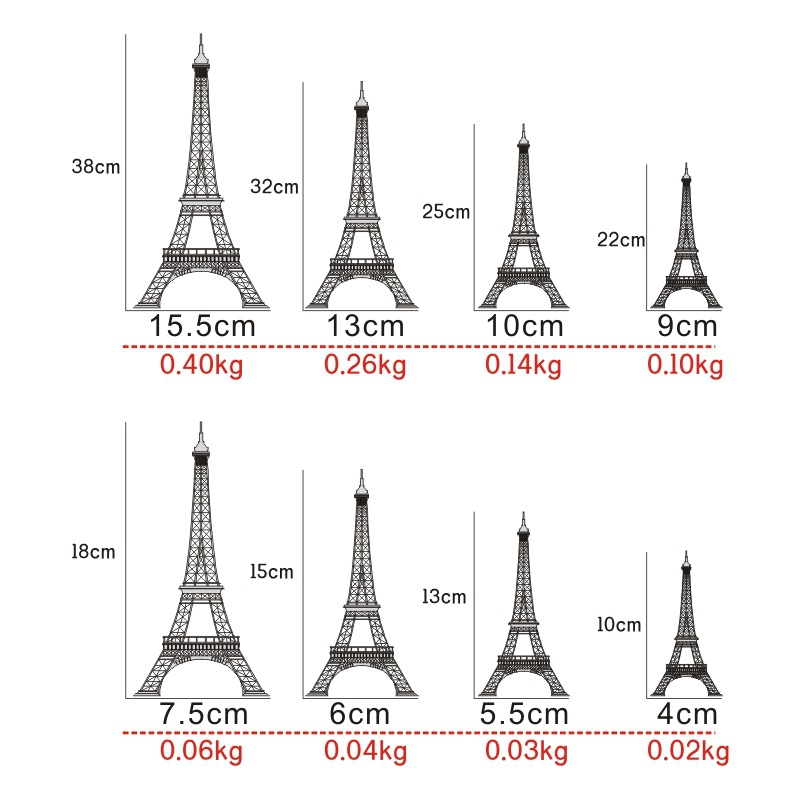 HTB19paGQFXXXXbHXVXXq6xXFXXXq 1pcs Miniature Eiffel Tower Paris Tower Home Furnishing Decorative Gift Model Of Metal Ornaments Home Decoration Accessories