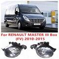 Para RENAULT MASTER Box III (FV) 2010-2015 Lâmpadas De Nevoeiro Luzes Frente lâmpada carros B6A508990A 261508990A 4419375