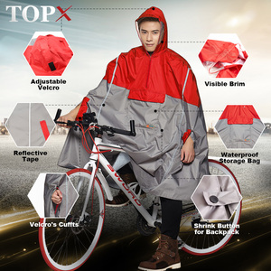 Image 1 - Impermeable Raincoat Women/Men Outdoor Rain Poncho Backpack Reflective Design Cycling Climbing Hiking Travel Rain Cover