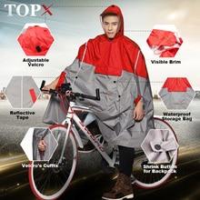 Nieprzemakalny płaszcz przeciwdeszczowy kobiety/mężczyźni Outdoor Poncho przeciwdeszczowe plecak odblaskowy Design kolarstwo wspinaczka turystyka podróż pokrowiec przeciwdeszczowy