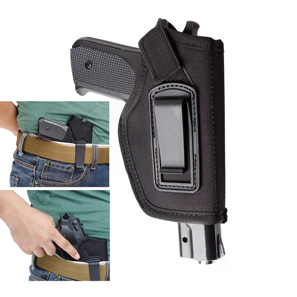 Holster For Gun Inside Waistband IWB Concealed Carry Pistol Holster Gun Bag Fit GLOCK 17 19 22 23 32 33 Ruger Nylon Holster