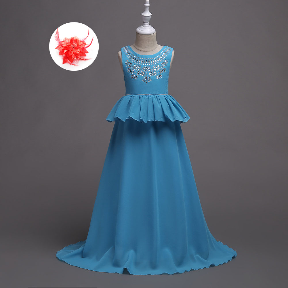 Teenage Girls Clothing for Party Prom Host Princess Flower Girl Kids ...