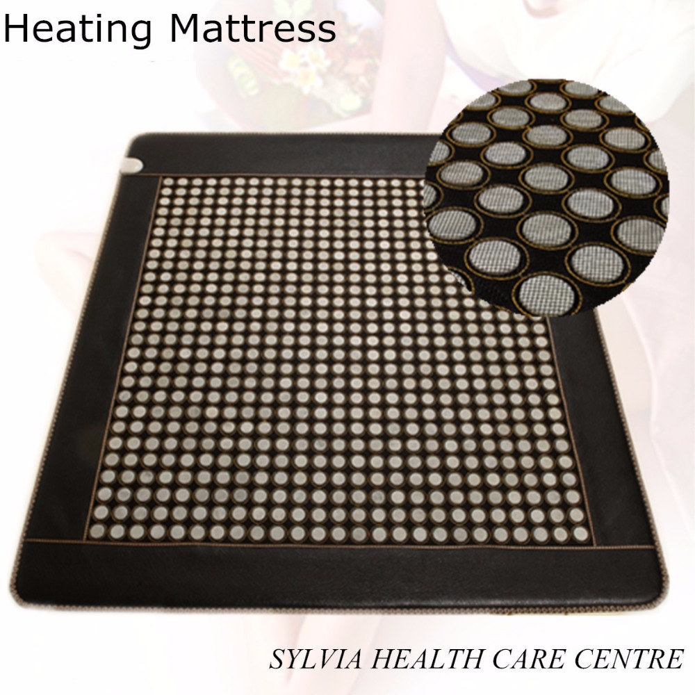 2017 best selling products jade mattress electric mattress pad jade stone <font><b>heating</b></font> <font><b>mat</b></font> online shopping with Free Gift eye cover