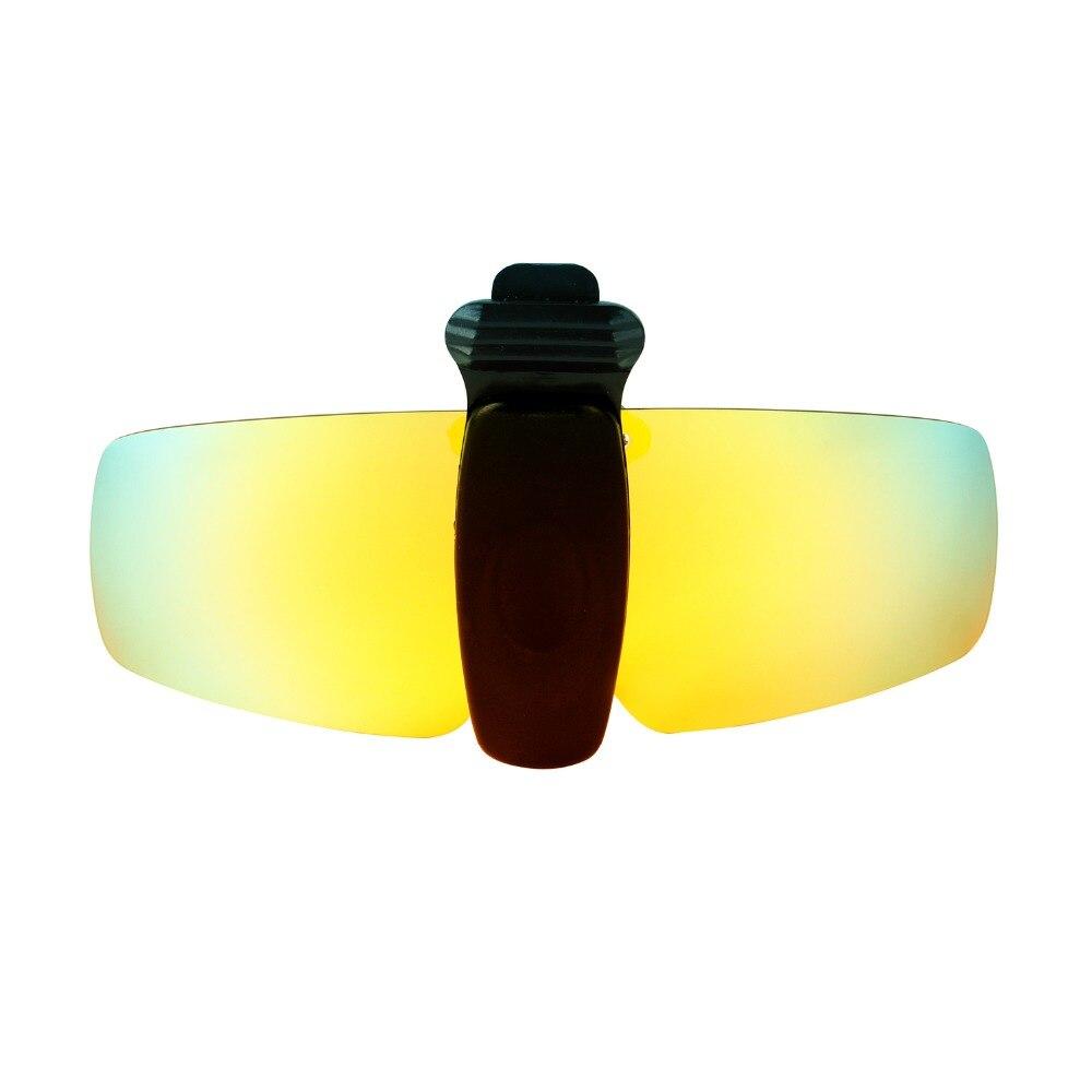 cabd1e8cdcb HKUCO Sunglasses Clip Polarized Lenses Hat Visors Clip on Sunglasses For  Fishing Biking Hiking Golf UV400 Protect-in Sunglasses from Apparel  Accessories on ...