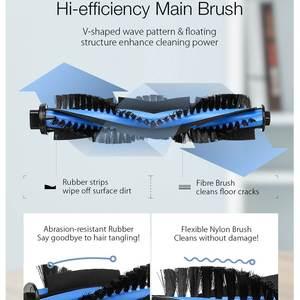 Image 3 - BlitzWolf เครื่องดูดฝุ่นหลักแปรง + แปรงด้านข้าง 2 ชิ้น + HEPA Filter สำหรับ BW VC1 เครื่องดูดฝุ่นหุ่นยนต์สมาร์ทบ้านอะไหล่