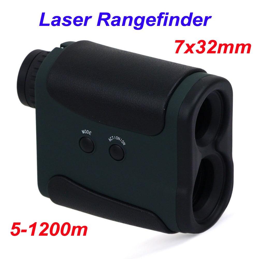 Hunting Tactical 1200m Laser Rangefinder Scope 7X32 ...