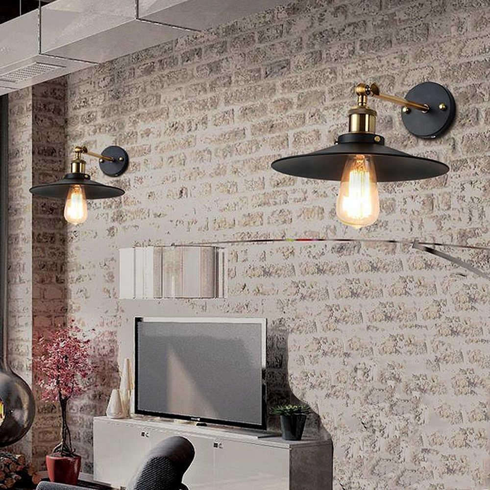 ASCELINA Лофт настенный светильник бра, настенные светильники для дома промышленные винтажные светодиодные лампы для спальни вверх вниз освещение лестницы E27 85-260 В