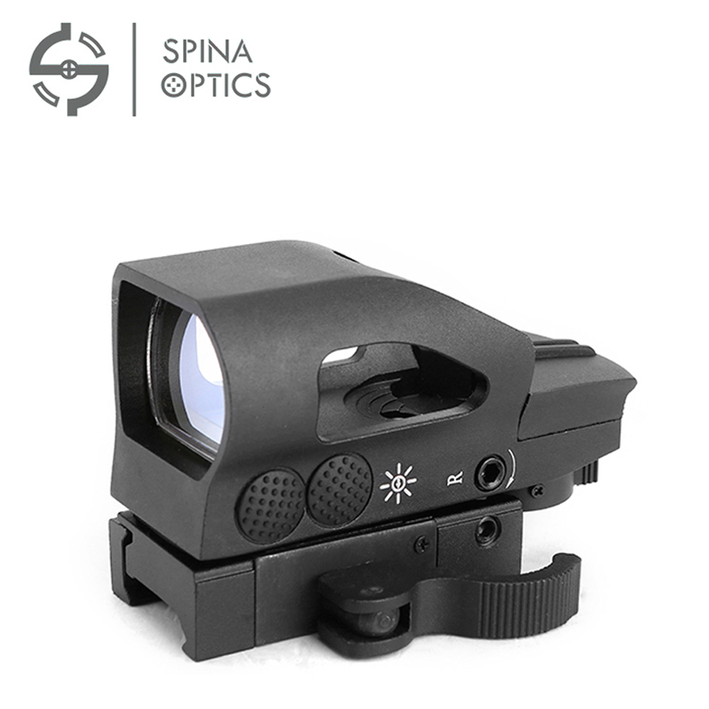 SPIAN OPTICS 1X22X33 Red And Green Dot Sight Reflex Sight For Aiming Riflescope Outdoor Hunting Sports