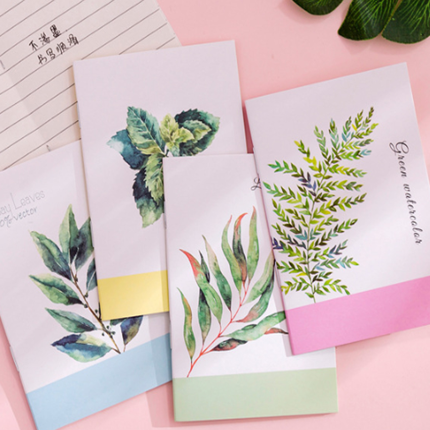 1pcs/lot Lovely Korea Small Fresh Painting series Plant pineapple Notebook School Office Supplies Stationery