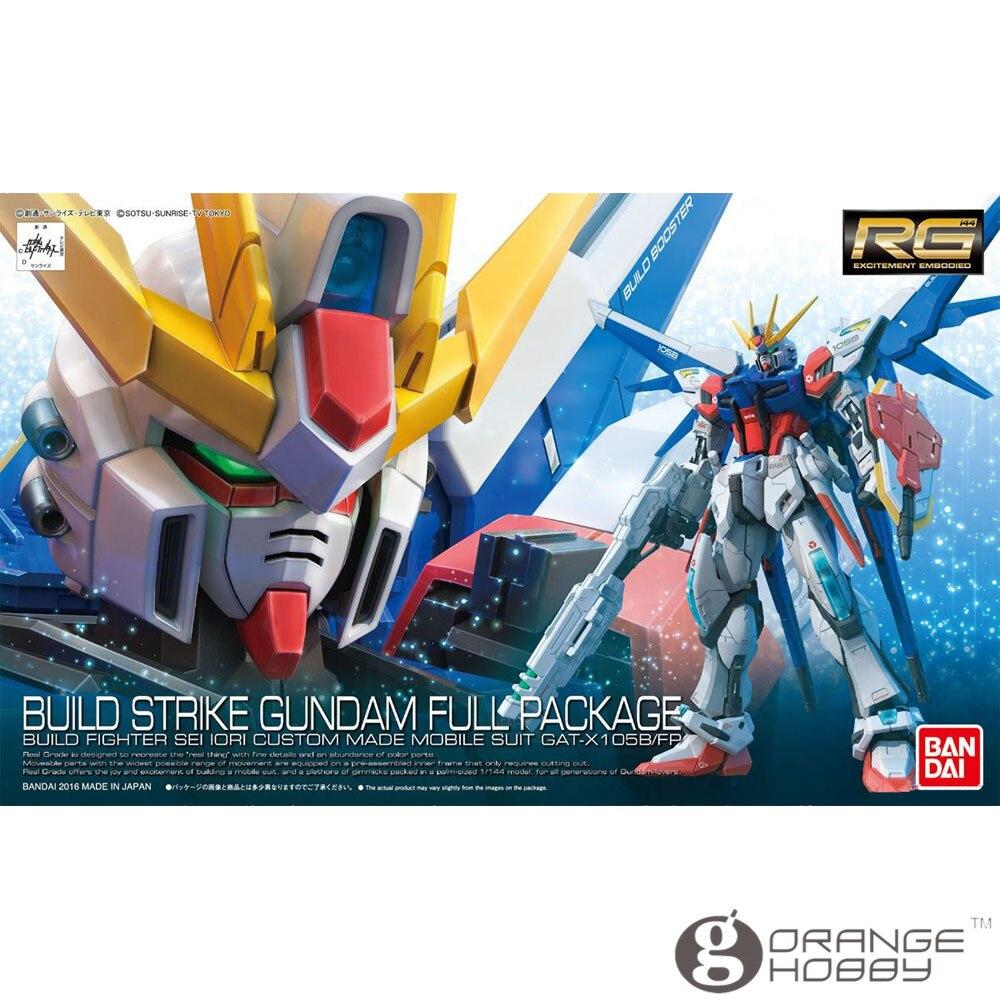 OHS Bandai RG 23 1/144 Build Strike Gundam полная посылка GAT X 105B/FP мобильный костюм сборные модели комплекты oh