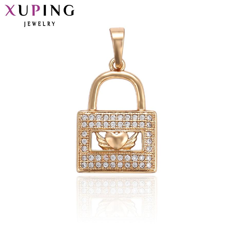 11,11 сделок Xuping мода рюкзак подвеска в форме с Синтетические ювелирные изделия CZ для Для женщин подарок на день матери S91.1-33682