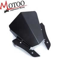Motoo For Yamaha MT 07 FZ 07 MT 07 2013 2017 Motorcycle Motorbike Windshield Windscreen Aluminum