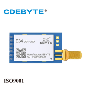 Image 1 - E34 2G4H20D תדר מקפץ UART nRF24L01P 2.4Ghz 100mW SMA אנטנה IoT uhf אלחוטי משדר nRF24L01 + PA 2.4g rf מודול