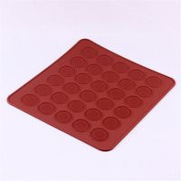 30 cavities food grade silicone baking mat,christmas wedding supplies macaron pastry mat baking tools mold