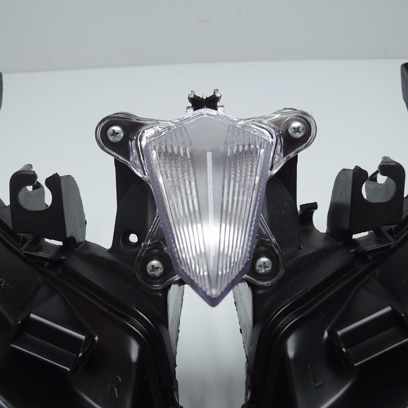 TMAX 530 2012 2013 2014 Front Headlight Head Light  Headlamp For Yamaha T-MAX530 TMAX530 2012 2013 2014 Clear (10)