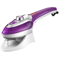 Portable Handheld Garment Steamer Vertical Travel Electric Iron Steamer For Ironing Clothes With Steam Brush Household Appliance