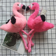 1pc Plush Flamingo Party Toys Stuffed Animal Soft Toys Room Decoration Ins Hot Swan Simulation Doll Kids Children Birthday Gift(China)