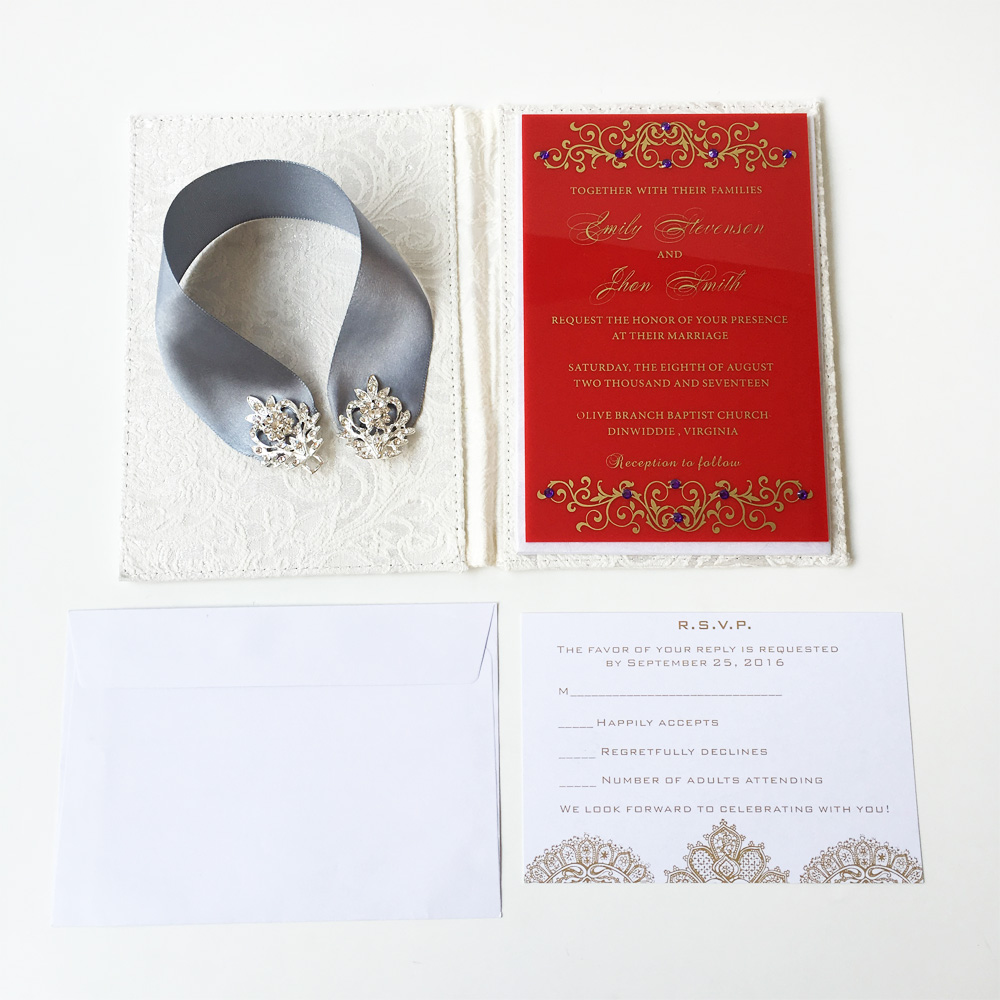 Fancy Invitation Sets Wedding Picture Collection - Invitations and ...