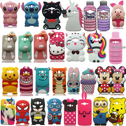 Pour Samsung Galaxy J5/J7/A5/A7/2015 & 2016 J510 J710 A510 A710 3D coque de téléphone en Silicone souple