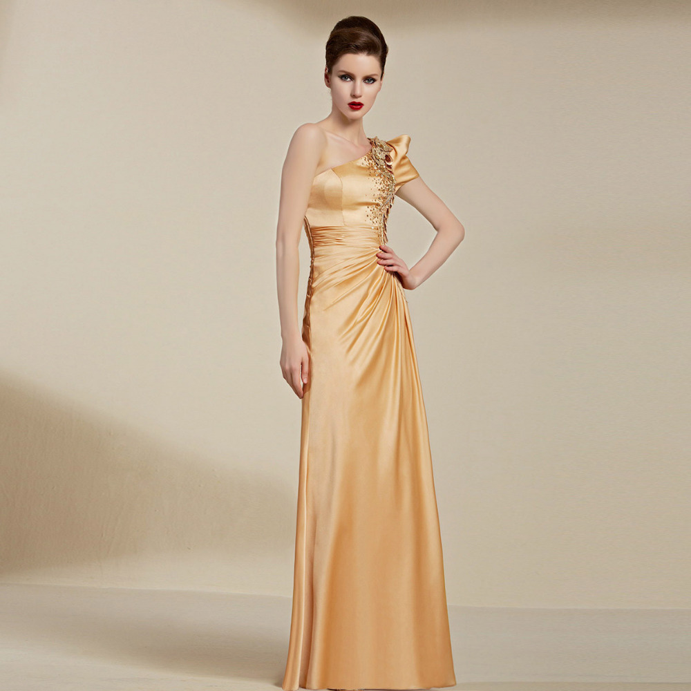 Gold Evening Dresses Promotion-Shop for Promotional Gold Evening ...