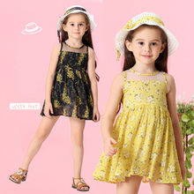 Girls Dress 2019 New Summer Brand Girls Clothes Lace and Ball Design Baby Girls Dress Party Dress with Hat for 3-7 Years bear leader girls dress 2018 new summer brand girls clothes lace petal sleeve design baby girls dress party dress for 3 7 years