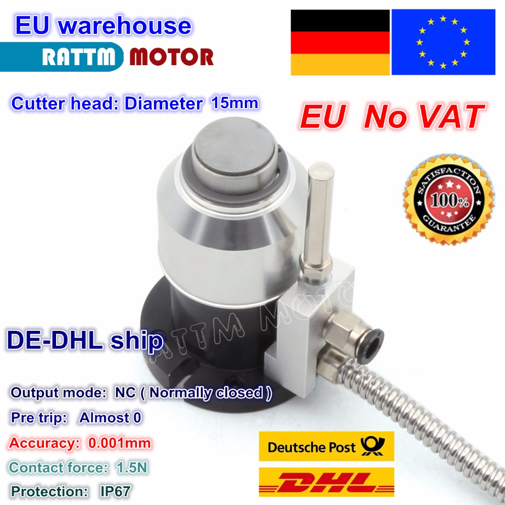 DE Free VAT High Precision Mach3 Automatic Tool Sensor CNC Router Z Axis Probe Tool Touch Sensor Setting Gauge