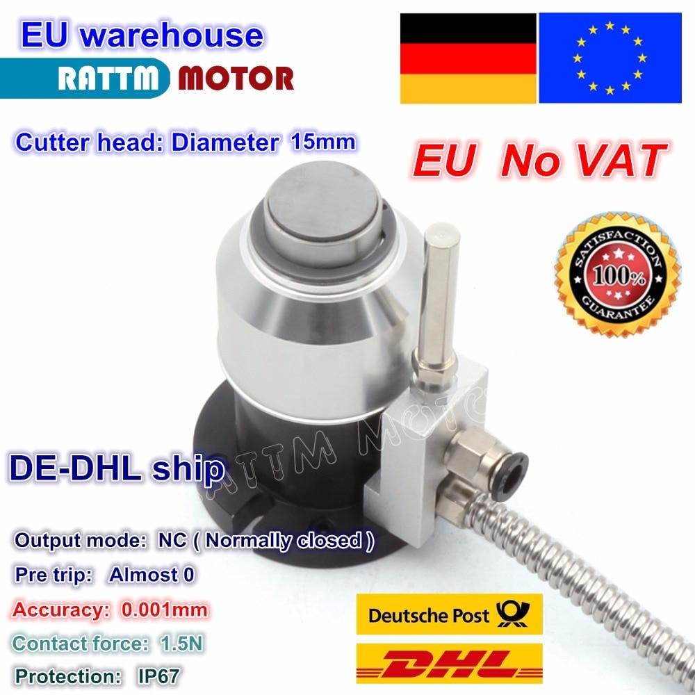 DE Free VAT High Precision Mach3 Automatic Tool Sensor CNC Router Z Axis Probe Tool Touch Sensor Setting Gauge