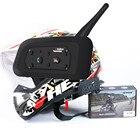 Best 1200M Motorcycle Intercom Bluetooth Helmet Headsets for 6 riders Wireless Multi-interphone Helmet Intercom Waterproof IP65