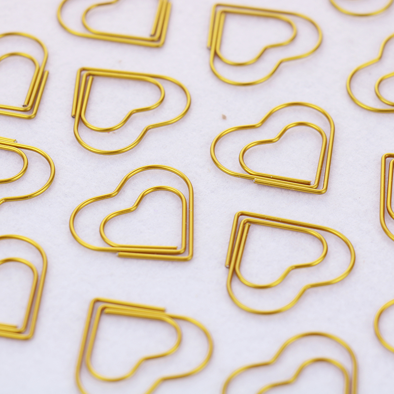 Image 5 - TUTU 30PCS/LOT high quality Paperclip Book Mark Bow Clip Accessories Bookmark Bookend Clip Metal Paper Clip Gold Paperclip H0030-in Clips from Office & School Supplies