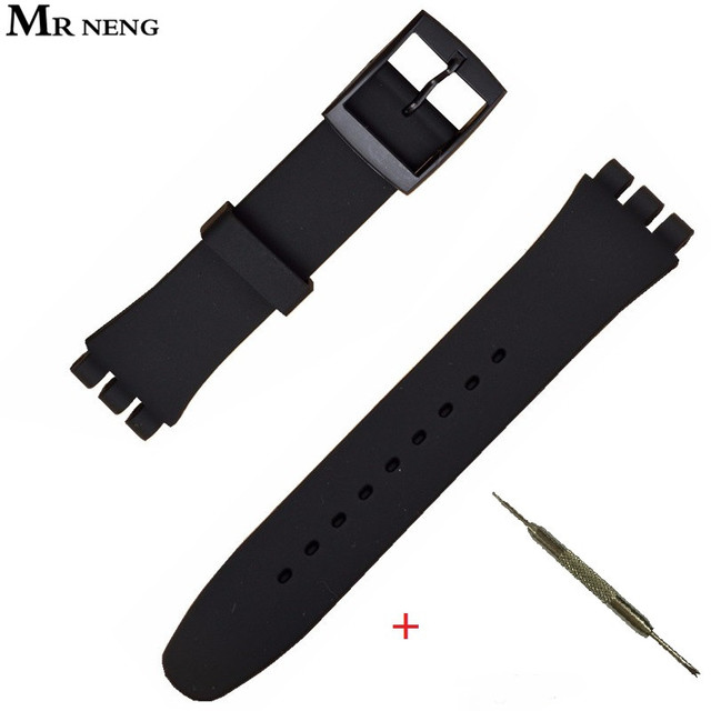 men watch s black rubber plastic swatch dial mono jomashop strap silicone watches