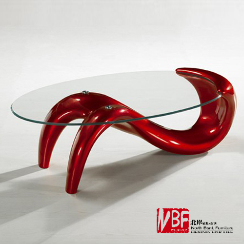 Nord shore sirena soggiorno tavolino tavolino di vetro - Tavolo ovale ikea ...