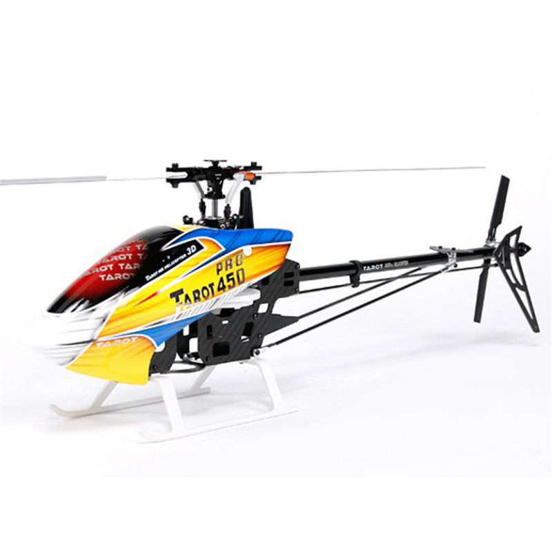Best Deal Tarot 450 PRO V2 DFC Flybarless RC Helicopter Kit For Kids Toys Birthday Gifts Children