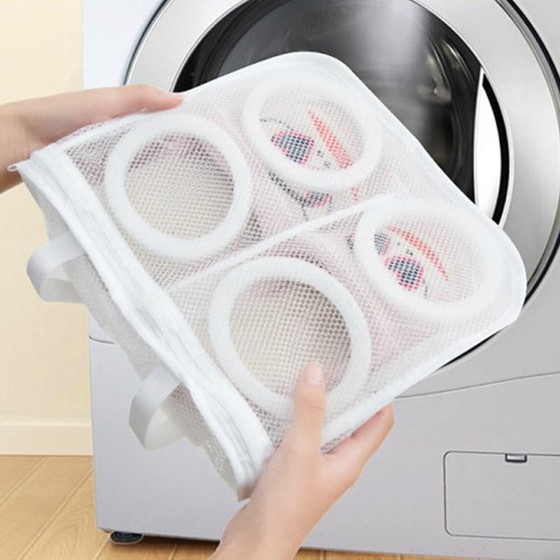 Mesh Shoes Storage Portable Machine Washing Dry Bags Organizer Laundry Accessory