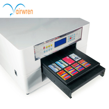 A3 size pvc card printer phone case glass uv printing machine with low price