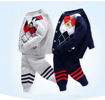 2016-Girl-Boy-Knitting-Winter-Sweater-Kid-Knit-Jacket-Long-Sleeve-Baby-Clothes-2-pieces-Top-Pants-5