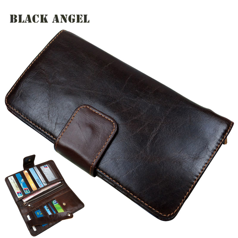 Fashion oil wax leather men wallets cowhide genuine leather wallet man multi card holder clutch bag purse simline fashion genuine leather real cowhide women lady short slim wallet wallets purse card holder zipper coin pocket ladies