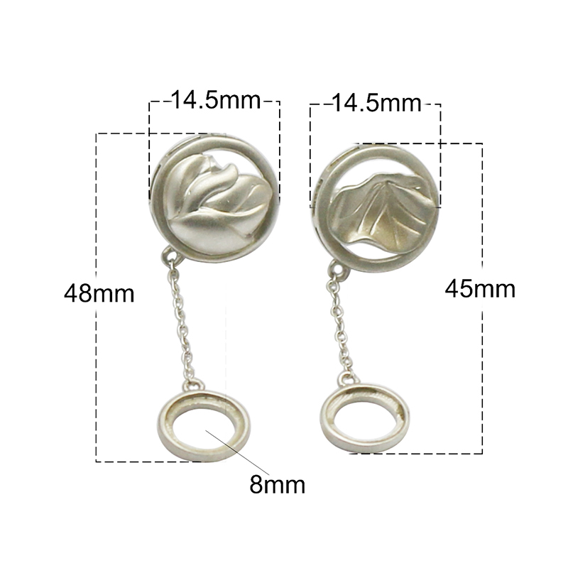 Beadsnice 925 argent Sterling Stud boucle d'oreille bijoux plateau pour boucle d'oreille cadeau pour elle ID37130 - 3