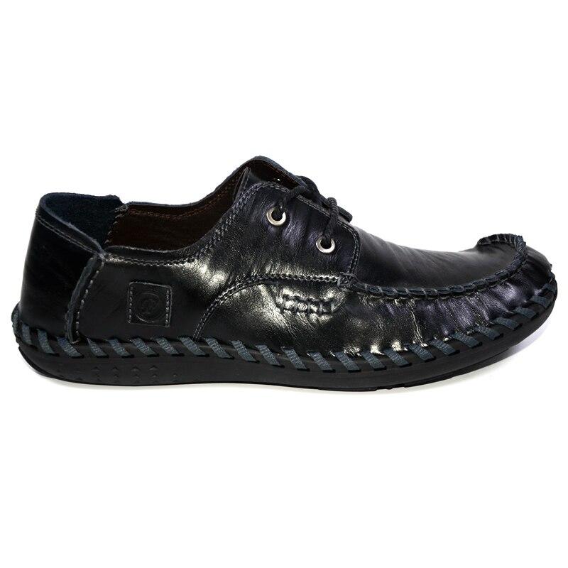 Noir marron Nouvelle Respirant Cuir Hommes Chaussures Dxkzmcm Vache Main Arrivée Véritable En rouge Occasionnels Raqd7dBPx