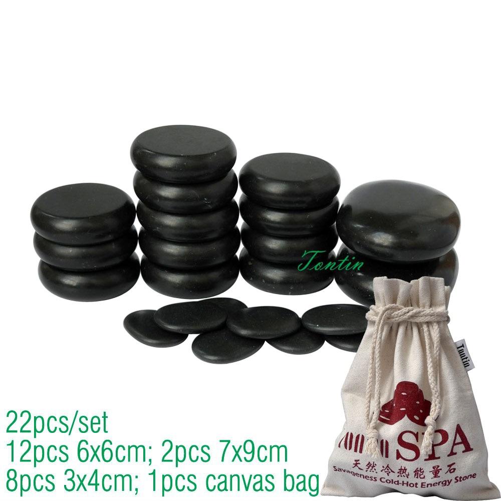 TONTIN Hot Massage Energy Body Basalt Stone Salon SPA խիտ կտավ - Առողջապահություն