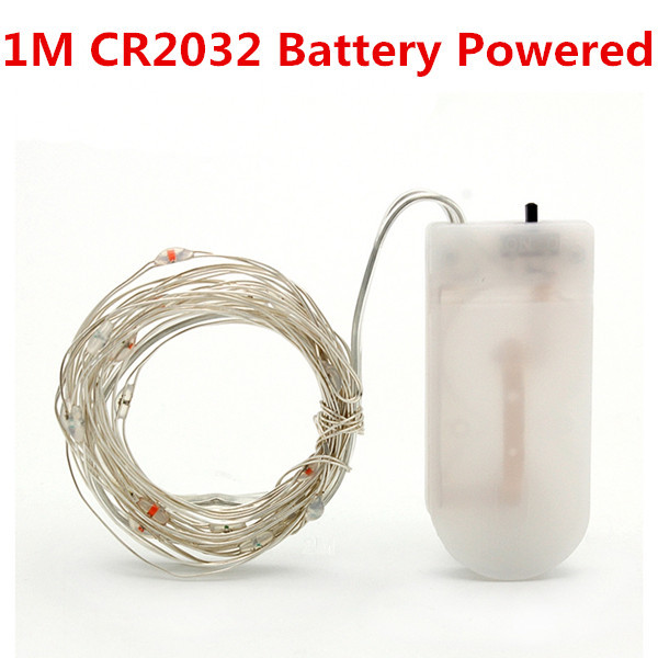 1M 10led CR2032