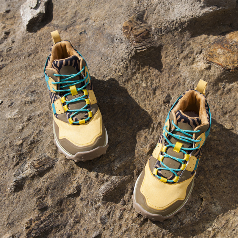RAX Женская походная обувь непромокаемые походные ботинки мужские уличные дышащие Прогулочные кроссовки зимние ботинки женские альпинизм