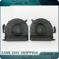 100 Genuine New A1398 CPU Cooling Cooler Fan Left And Right For MacBook Pro 15 Retina
