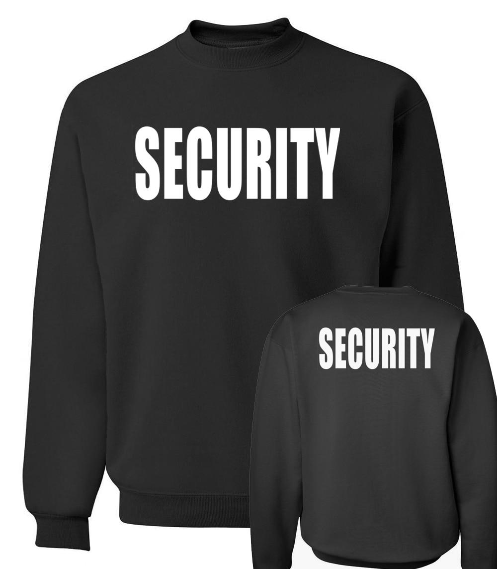 Arrival Style 2019 Security Black Sweatshirt Autumn Winter Fashion Men Hoodies Cool Streetwear Tracksuit Hip Hop  Clothing