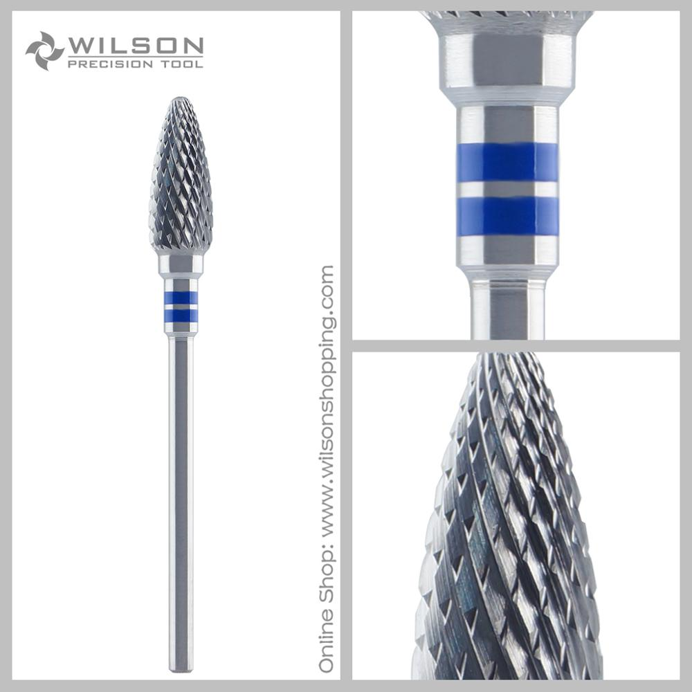 Cross Cut - Tungsten Carbide Nail Drill Bits&Dental Lab Burs - Standard(5005350) - ISO 190 - Left Handed Person
