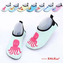 Kids Beach Shoes 2019 Summer New Baby's Walking Shoes Boy Girls Swimming Shoes boys Floor Slippers Children's Shoes Boy Sandels(China)