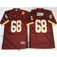 vansceopinz Mens Retro Russ Grimm Stitched Name Number Throwback Football  Jersey 17fbaef7b