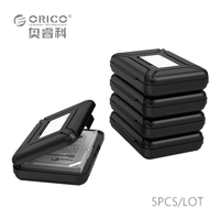 Orico Protection Box With EVA Sponge Mat Support 3 5inch HDD By Reinforcement Design Storage Case