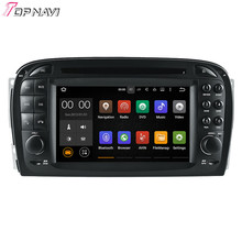 "6.2"" Quad Core Android 5.1.1 Car Radio For SL R230 (2001-2004.6) For BENZ With GPS Navi Audio Stereo Multimedia"