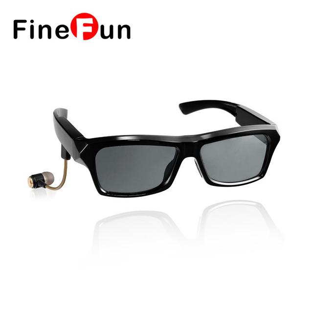 FineFun C1BT plena Compatibilidad Inalámbrica luetooth Auricular Inteligente Gafas para Miopía gafas de Sol Polarizadas 4.1 reproductor de MP3